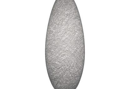 8) White Glassweaver vessel, 2009, 68 cm