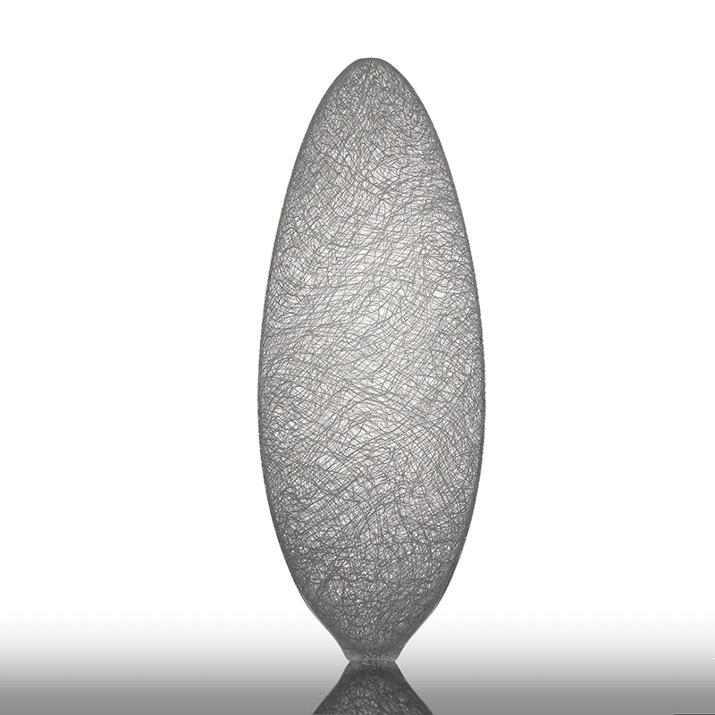 8) White Glassweaver vessel, 2009, 68 cm